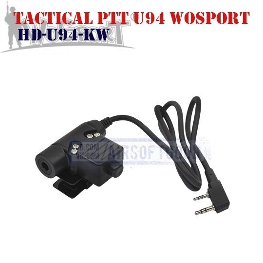 Tactical PTT U94 KENWOOD WoSporT (HD-U94-KW)