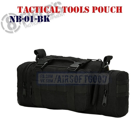 Tactical Tools Pouch Black 8FIELDS (NB-01-BK)