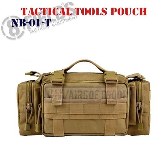 Tactical Tools Pouch TAN 8FIELDS (NB-01-T)