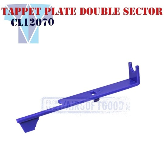 Tappet Plate Double Sector SHS (CL12070)