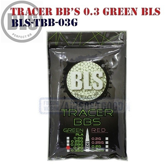 Tracer BB's High Precision 0.3 грамм Green 1кг BLS (BLS-TBB-03G)
