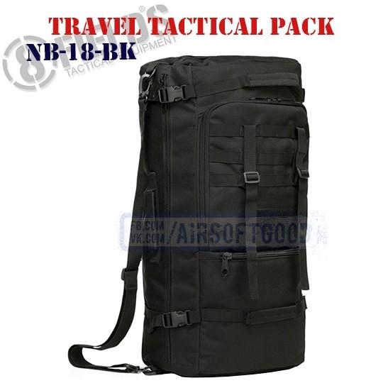 Travel Tactical BackPack Black 8FIELDS (NB-18-BK)