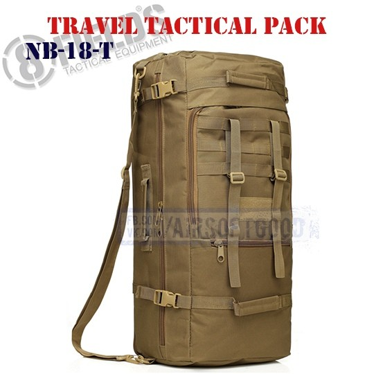 Travel Tactical BackPack TAN 8FIELDS (NB-18-T)