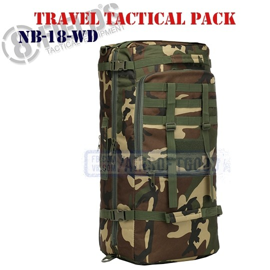 Travel Tactical BackPack Woodland 8FIELDS (NB-18-WD)