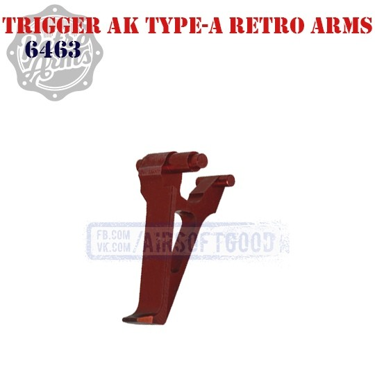 Trigger AK Type-A Red CNC Retro Arms 6463