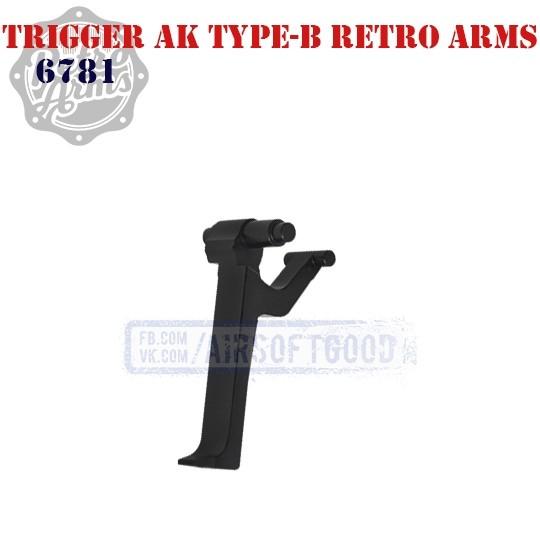 Trigger AK Type-B CNC Retro Arms (6781) спусковой крючок ак