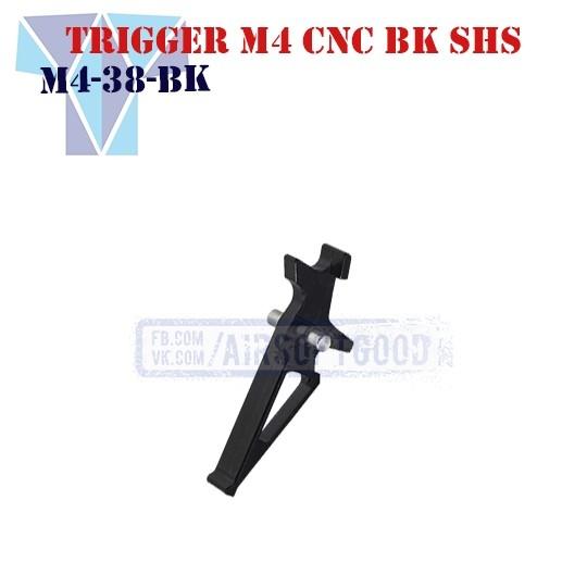 Trigger M4 Aluminum CNC Black SHS (M4-38-BK)