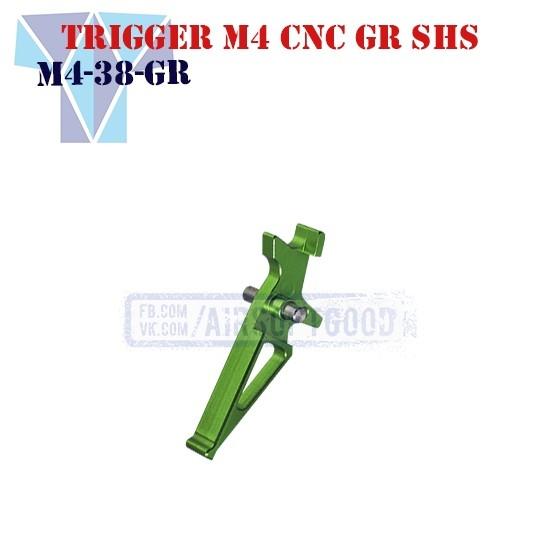 Trigger M4 Aluminum CNC GR SHS (M4-38-GR)