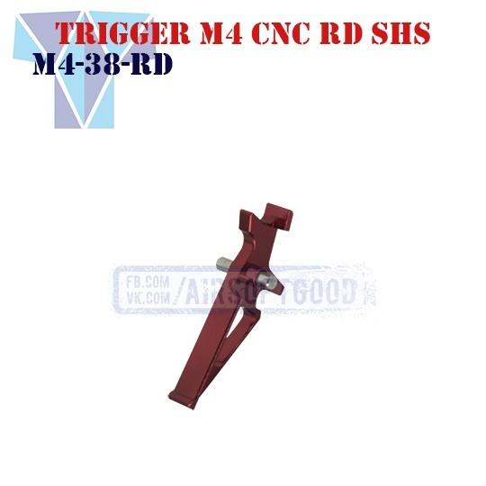 Trigger M4 Aluminum CNC RD SHS (M4-38-RD)