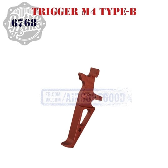 Trigger M4 Type-B Red CNC Retro Arms 6768 спусковой крючок