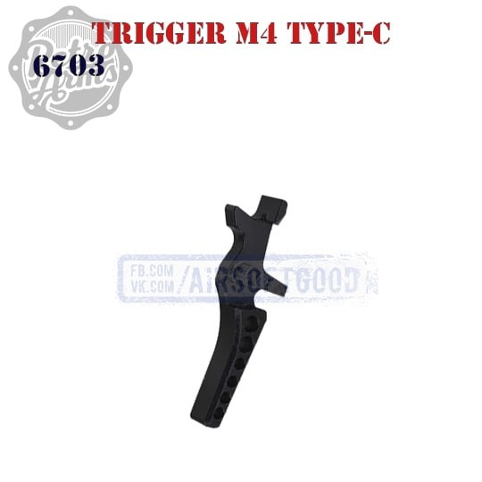 Trigger M4 Type-C CNC Retro Arms 6703 Гачок М4