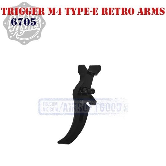 Trigger M4 Type-E CNC Retro Arms (6705)