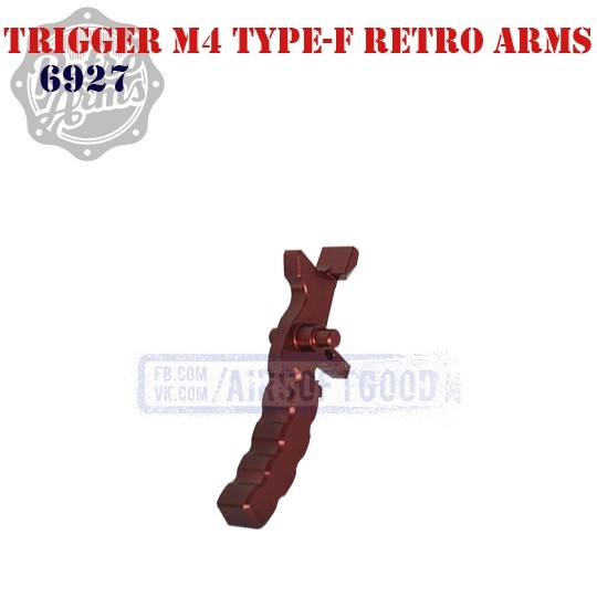 Trigger M4 Type-F Red CNC Retro Arms (6927)