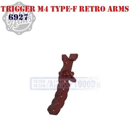 Trigger M4 Type-F Red CNC Retro Arms (6927)