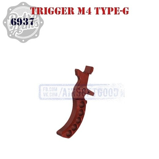 Trigger M4 Type-G Red CNC Retro Arms (6937)