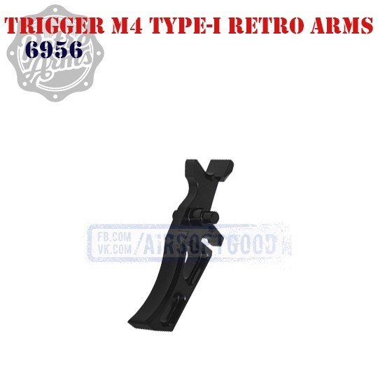 Trigger M4 Type-I CNC Retro Arms (6956)