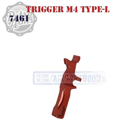 Trigger M4 Type-L Red CNC Retro Arms (7461)