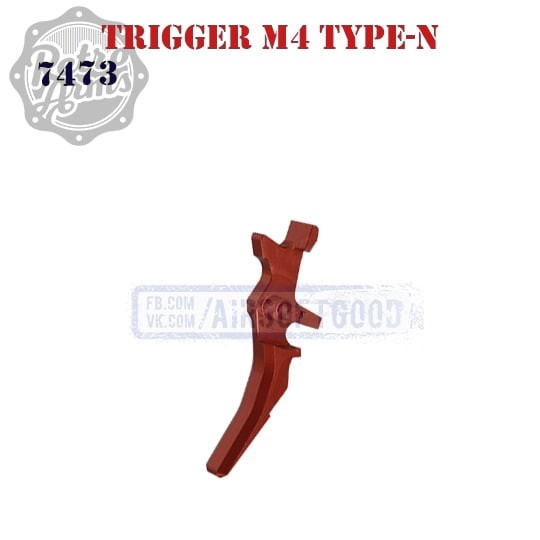 Trigger M4 Type-N Red CNC Retro Arms (7473)