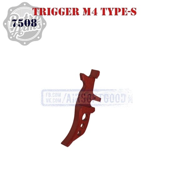 Trigger M4 Type-S Red CNC Retro Arms (7508)