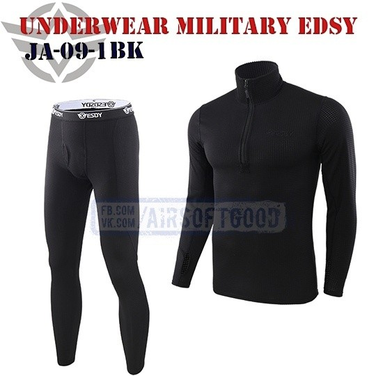 Underwear Military Black ESDY (JA-09-1BK)