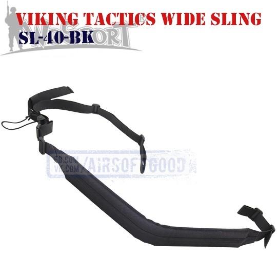 Viking Tactics Wide Hybrid Sling Black WoSporT (SL-40-BK)