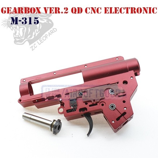 Gearbox Shell Set Version 2 QD CNC Electronic ZC Leopard (M-315)
