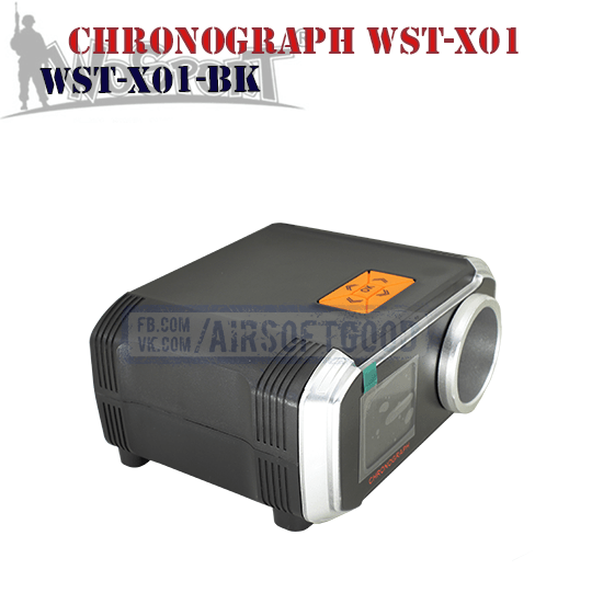 Chronograph WST-X01 WoSporT (WST-X01-BK)