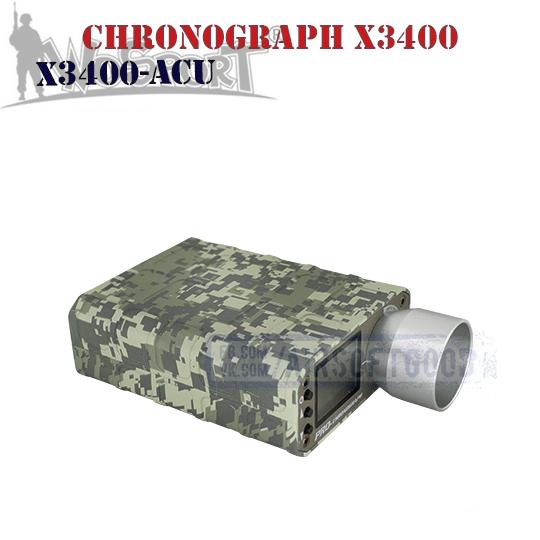 Chronograph X3400 ACU WoSporT (X3400-ACU)