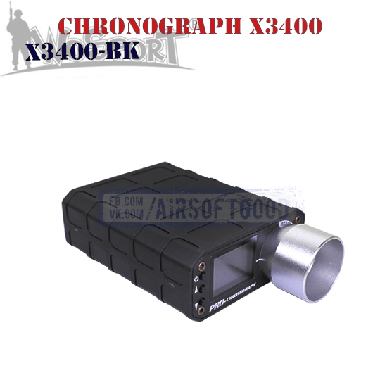 Chronograph X3400 WoSporT (X3400-BK)