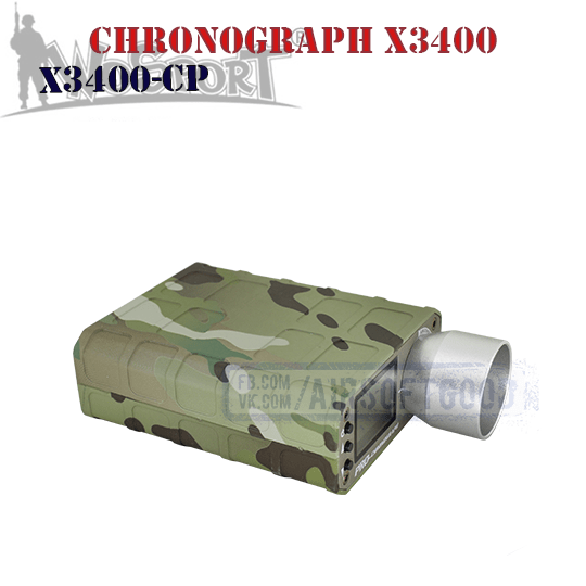 Chronograph X3400 Multicam WoSporT (X3400-CP)