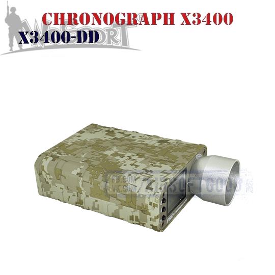 Chronograph X3400 Desert Digital WoSporT (X3400-DD)