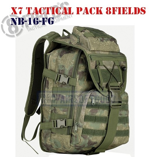 X7 Tactical BackPack A-TACS FG 8FIELDS (NB-16-FG)