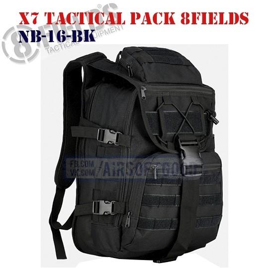 X7 Tactical BackPack Black 8FIELDS (NB-16-BK)