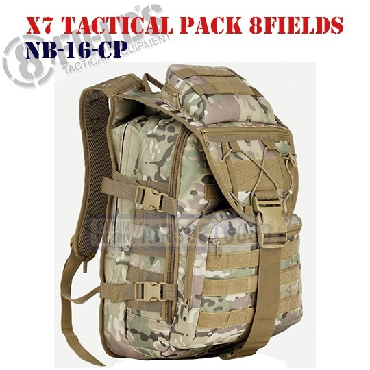 X7 Tactical BackPack MULTICAM 8FIELDS (NB-16-CP)