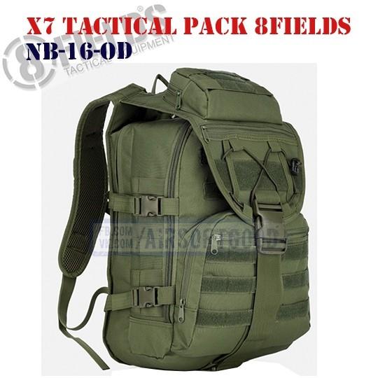 X7 Tactical BackPack OD 8FIELDS (NB-16-OD)