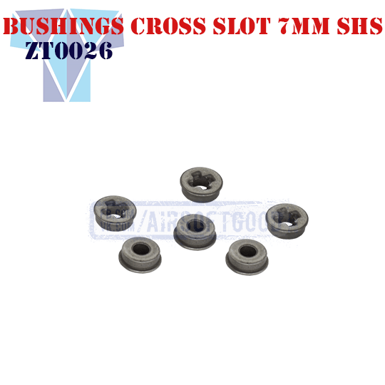 Oiless Bushing Cross Slot 7mm SHS (ZT0026)