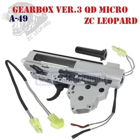 Gearbox Shell Set Version 3 QD Micro ZC Leopard (A-49)