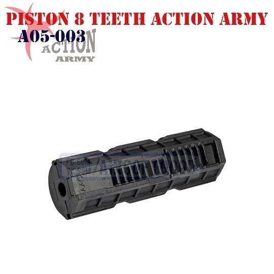 Piston Nylon+Fiber 8 Teeth ACTION ARMY (A05-003)