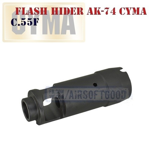Flash Hider AK-74 CYMA (C.55F)