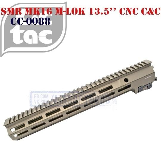 """SMR MK16 M-LOK 13.5"""" CNC C&C (CC-0088)"""