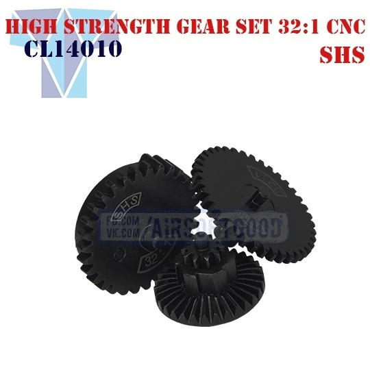 High Strength Gear Set Infinite Torque 32:1 CNC SHS (CL14010)