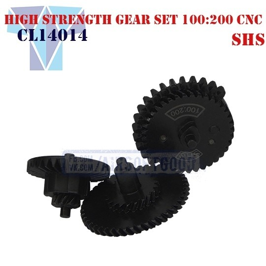 High Strength Gear Set Torque 100:200 CNC SHS (CL14014)