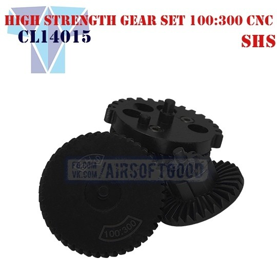 High Strength Gear Set Ultra Torque 100:300 CNC SHS (CL14015)