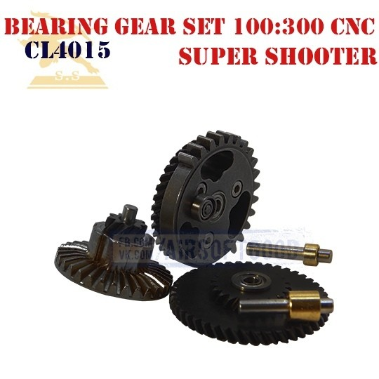 Bearing Gear Set Ultra Torque 100:300 CNC Super Shooter (CL4015)