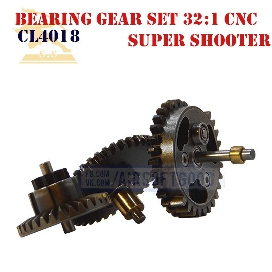 Bearing Gear Set Infinite Torque 32:1 CNC Super Shooter (CL4018)
