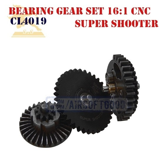 Bearing Gear Set Speed 16:1 CNC Super Shooter (CL4019)