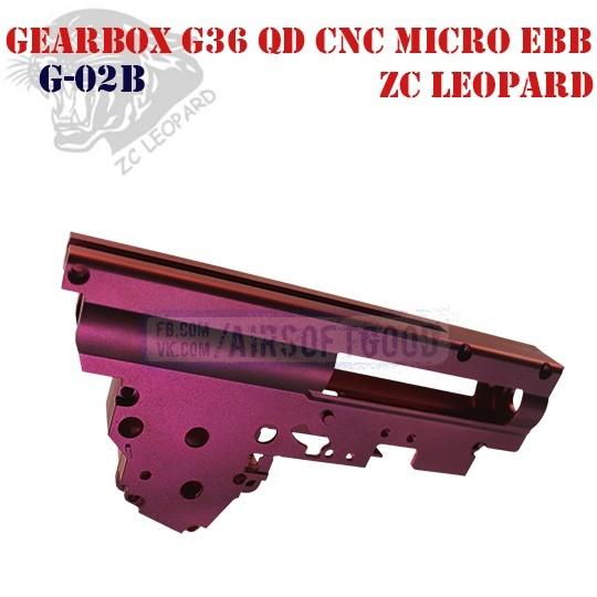 Gearbox G36 QD CNC Aluminum 7075 Micro EBB ZC Leopard (G-02B)