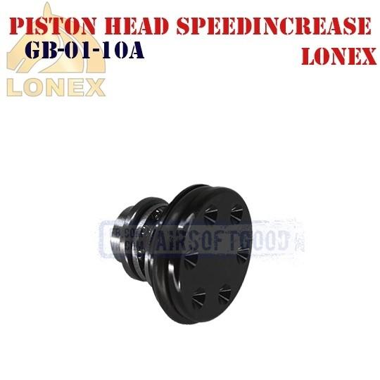 Piston Head SPEEDINCREASE Aluminum LONEX (GB-01-10A)