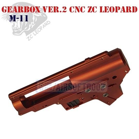 Gearbox Shell Set Version 2 CNC Aluminum 7075 ZC Leopard (M-11)