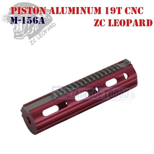 Piston Aluminum 19 Teeth CNC ZC Leopard (M-156A)